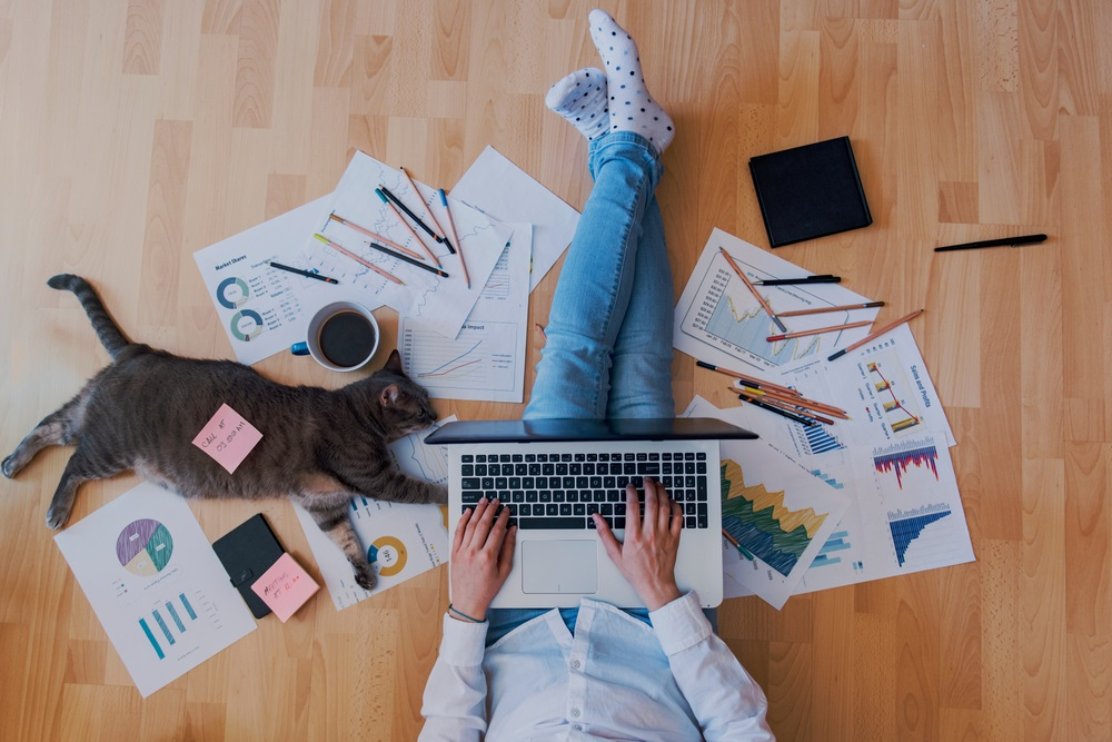 3 Tips om beter vanuit huis te werken